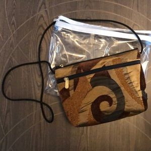Brown shade purse